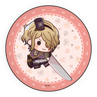 Badge - Senjuushi : the thousand noble musketeers / Nicola (Senjuushi)