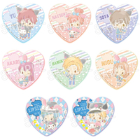 (Full Set) Heart Badge - My Melody