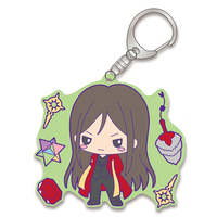 Rubber Key Chain - Fate/Grand Order / Caster & Zhuge Liang (Lord El-Melloi II)