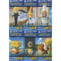 (Full Set) World Collectable Figure - ONE PIECE / Luffy & Sanji