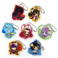 (Full Set) Trading Acrylic Key Chain - SHOW BY ROCK!!