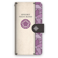 Smartphone Wallet Case for All Models - iPhone6 case - iPhone7 case - Sengoku Night Blood