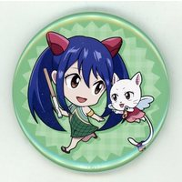 Trading Badge - Fairy Tail / Wendy Marvell & Carla