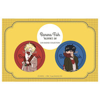 Badge - BANANA FISH / Ash Lynx & Okumura Eiji