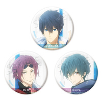 Badge - High Speed! / Kirishima Ikuya & Rin & Haruka