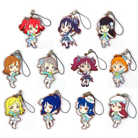 (Full Set) Rubber Strap - Kyun-Chara Illustrations - Love Live! Sunshine!!