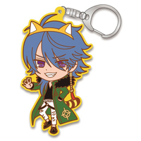 Rubber Key Chain - Araiguma Rascal / Arisugawa Dice