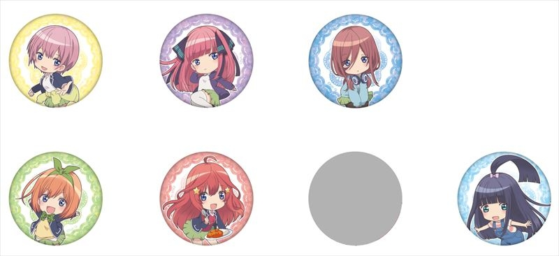 Trading Badge - Gotoubun no Hanayome (The Quintessential Quintuplets)