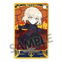 Commuter pass case - Pic-Lil! - Fate/Grand Order / Saber Alter