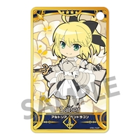 Pic-Lil! - Commuter pass case - Fate/Grand Order / Altria & Saber Lily