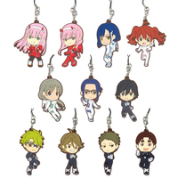 (Full Set) Rubber Strap - Kyun-Chara Illustrations - DARLING in the FRANXX