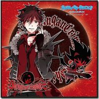 Hand Towel - Microfiber Towel - SHOW BY ROCK!! / Crow