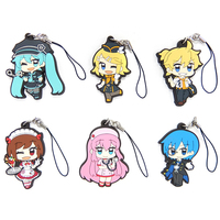 (Full Set) Rubber Strap - VOCALOID