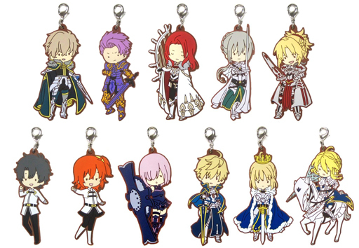 (Full Set) Rubber Charm - Fate/Grand Order