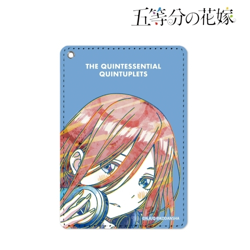 Commuter pass case - Ani-Art - Gotoubun no Hanayome (The Quintessential Quintuplets) / Nakano Miku