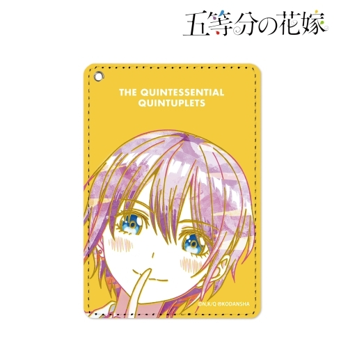Commuter pass case - Ani-Art - The Quintessential Quintuplets / Nakano Ichika