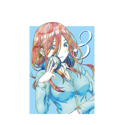 T-shirts - Ani-Art - The Quintessential Quintuplets / Nakano Miku Size-XL