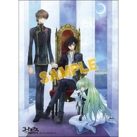 Illustration Panel (acrylic) - Code Geass / Lelouch & Suzaku & C.C.
