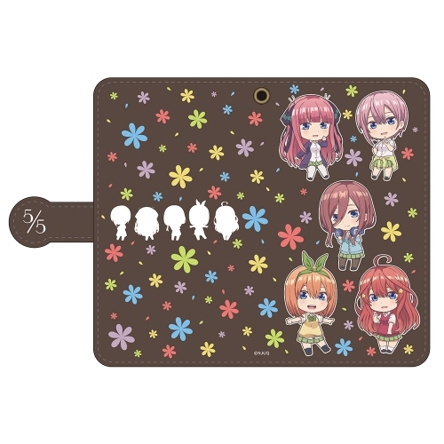 Mirror - Smartphone Wallet Case for All Models - Gotoubun no Hanayome (The Quintessential Quintuplets)