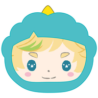 Goods Supplies - Omanjuu Niginigi Mascot Kigurumi Case - Sanrio / Harukawa Sora & Switch
