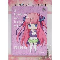 Commuter pass case - The Quintessential Quintuplets / Nakano Nino
