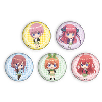 (Full Set) Badge - Gotoubun no Hanayome (The Quintessential Quintuplets)