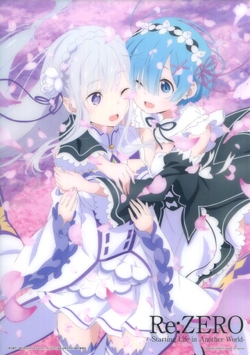 Character Card - Re:ZERO / Rem & Emilia