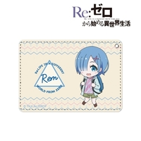 Commuter pass case - Re:ZERO / Rem