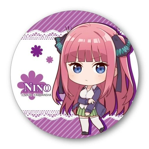 Badge - Gotoubun no Hanayome (The Quintessential Quintuplets) / Nakano Nino