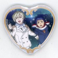 Heart Badge - King of Prism by Pretty Rhythm / Ichijou Shin & Kisaragi Louis