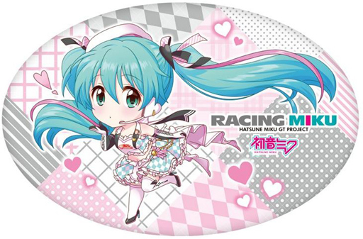 Die-cut Cushion - VOCALOID / Miku & Racing Miku
