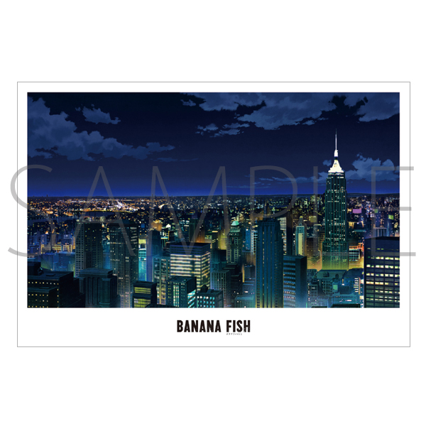 Postcard - BANANA FISH