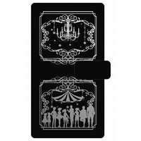 Smartphone Wallet Case for All Models - Black Butler