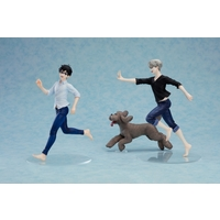 Figure - Yuri!!! on Ice / Makkachin & Victor & Yuuri