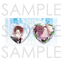 Heart Badge - DIABOLIK LOVERS / Sakamaki Laito