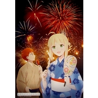 Poster - Fate/stay night / Saber & Shirou