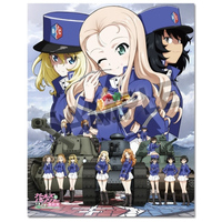 Badge - GIRLS-und-PANZER / Mary