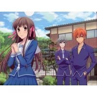 Plastic Folder - Fruits Basket / Souma Yuki & Honda Tooru