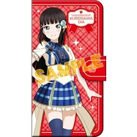 Smartphone Wallet Case for All Models - Love Live! Sunshine!! / Kurosawa Dia