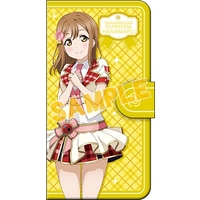 Smartphone Wallet Case for All Models - Love Live! Sunshine!! / Kunikida Hanamaru