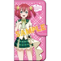 Smartphone Wallet Case for All Models - Love Live! Sunshine!! / Kurosawa Ruby