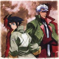 Canvas Board - IRON-BLOODED ORPHANS / Orga & Mikazuki