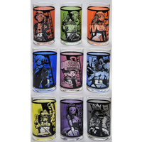 (Full Set) Tumbler, Glass - ONE PIECE