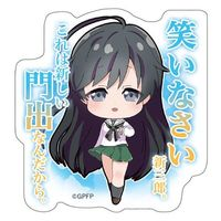 Acrylic Badge - GIRLS-und-PANZER / Isuzu Hana