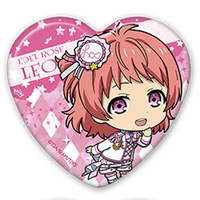 Heart Badge - King of Prism by Pretty Rhythm / Saionji Leo