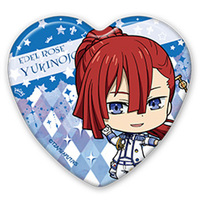 Heart Badge - King of Prism by Pretty Rhythm / Tachibana Yukinojou