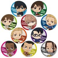 (Full Set) Trading Badge - Kaze ga Tsuyoku Fuiteiru (Run with the Wind)