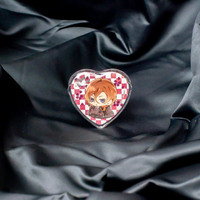 Heart Badges Cover (52×57mm 5sheets)
