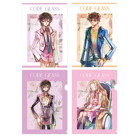 Plastic Folder - Code Geass / Nunnally Lamperouge & Suzaku & Rolo