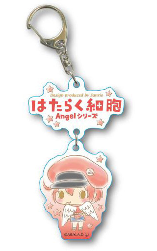 Key Chain - Sanrio / Red Blood Cell (AE3803)